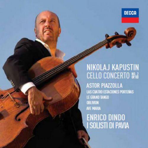 Enrico Dindo - Kapustin - Piazzolla