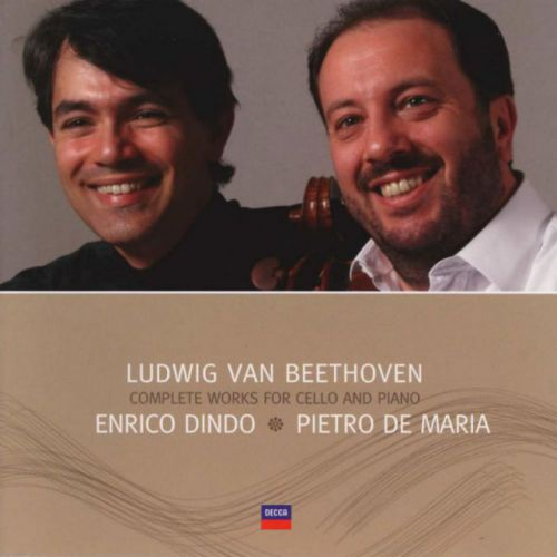 Enrico Dindo -  Ludwig van Beethoven - Complete Works for cello and piano